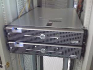 Les deux serveurs SQL - vue face