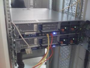 Les deux serveurs SQL - vue arrière