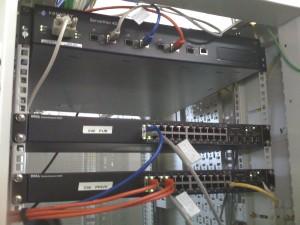 Le load balancer et les deux switchs