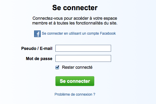 Facebook connect le blog de l 39 quipe d 39 audiofanzine - Comment rester connecter sur facebook ...