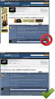 Audiofanzine sans pub