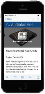 Smartphone petite annonce